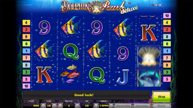 Бонусная игра Dolphin's Pearl Deluxe 5