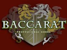 Игровой автомат Баккара Профессиональная Серия